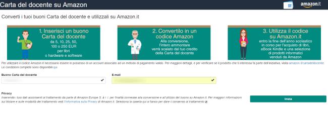 Carta Del Docente Come Usare I 500 Euro Su Amazon