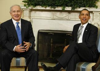 Benjamin Netanyahu e Barack Obama (AP Photo/Charles Dharapak)