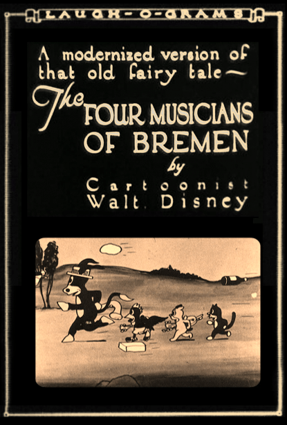 Image result for The Four Musicians of Bremen (1922)