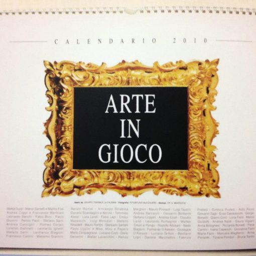 """Calendario 2010 """"Arte in Gioco"""""""