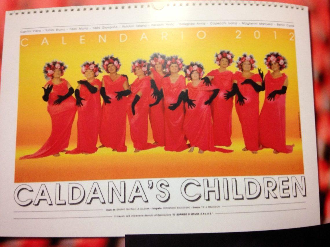"""Calendario 2012 """"Caldana's Children"""""""