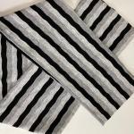 Fascia righe grigie bimba