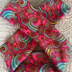 Fascia adulto arcobaleni rosa