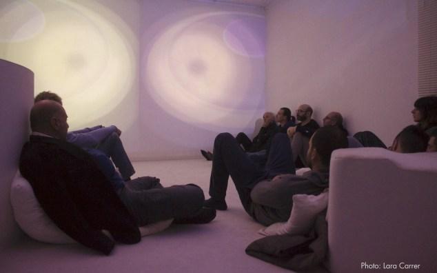 Della Marina - Zucchi, A Place to Play, live sound installation at Spazioersetti, 2015