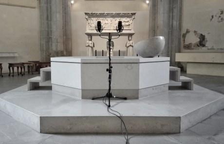 Michele Spanghero - Guttatim - Battistero del Duomo di Udine
