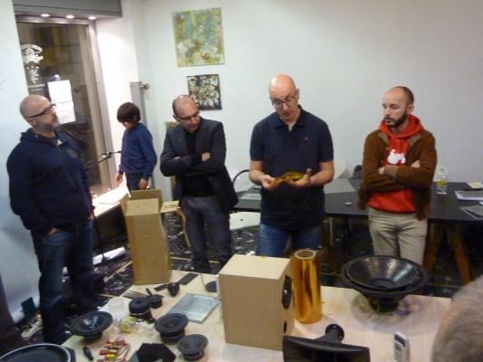 LOUDSPEAKER - laboratorio sulla costruzione di altoparlanti con Giorgio Tomasini - a cura di Continuo associazione culturale