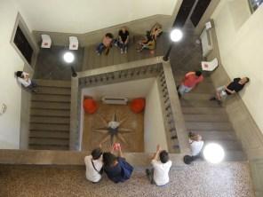 Il Suono in Mostra 2017 - Scalone di Palazzo Garzolini di Toppo Wassermann - Giancarlo Toniutti - SITO GEOACUSTICO GRAVITROPICO - photo Lara Carrer