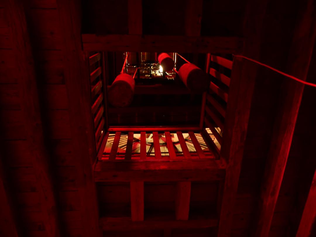Il Suono in Mostra 2017 - Torre dell'Orologio - Anna Friz - THE ENVELOPE OF THE HOUR - photo Lara Carrer