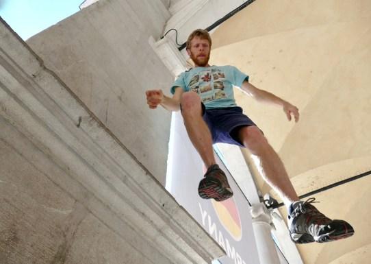 flying Valerio Bergnach at #ilsuonoinmostra 2019 - foto di Lara Carrer