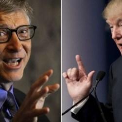 Bill Gates spiega a Trump che i vaccini non sono un pericolo