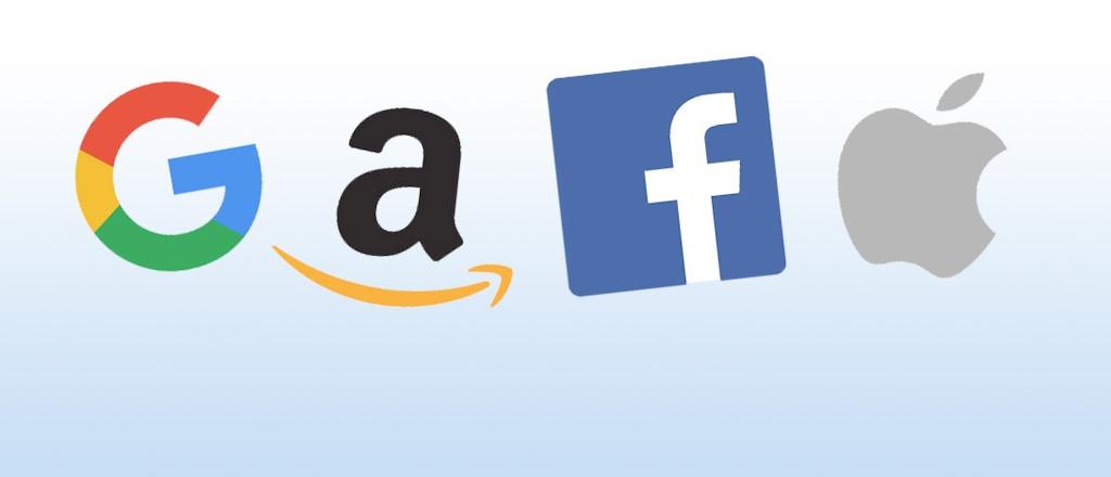 Apple, Google, Amazon e Facebook, Giganti del web sotto inchiesta, cambiano le regole Antitrust