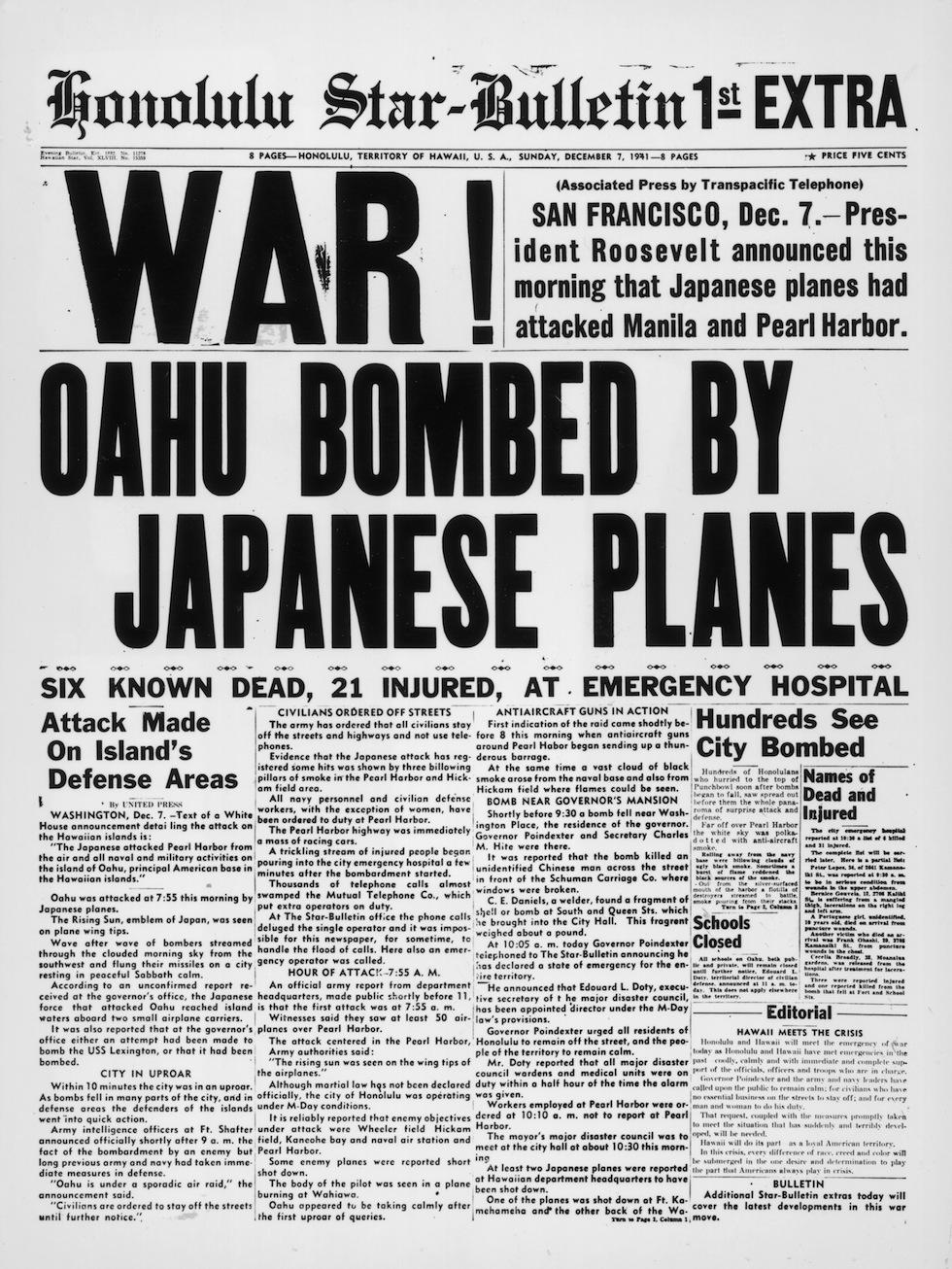 Attacco a Pearl Harbor: perché fu l'inizio della fine dell'impero del Giappone