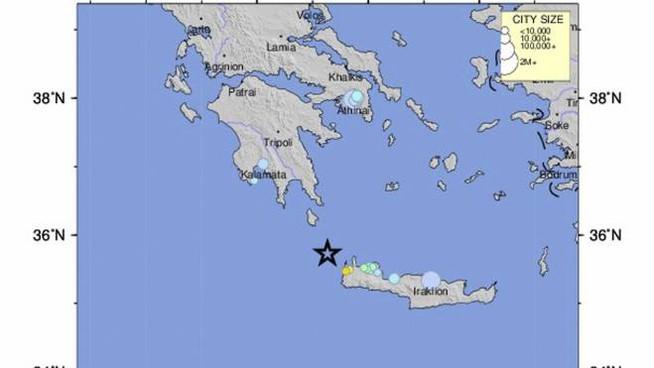 Cartina Geografica Isola Di Creta.Terremoto A Creta Una Scossa Puo Distruggere Una Civilta Forse E Gia Accaduto Il Superuovo