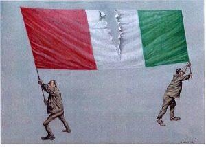 Qual è il vero problema dell'Italia? L'amara verità  di Massimo d'Azeglio e Claudio Bisio