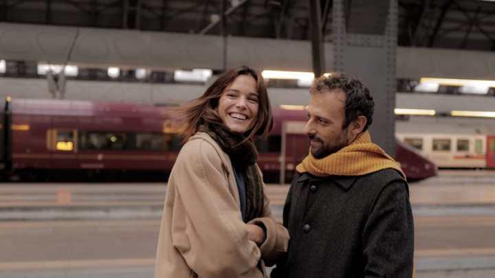 I due attori protagonisti del video di 'Scusa'