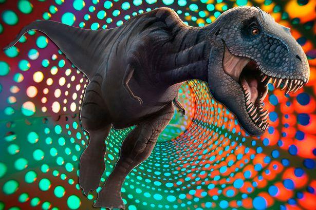 Cosa si vede sotto effetto di LSD? Ce lo raccontano i dinosauri che mangiavano allucinogeni