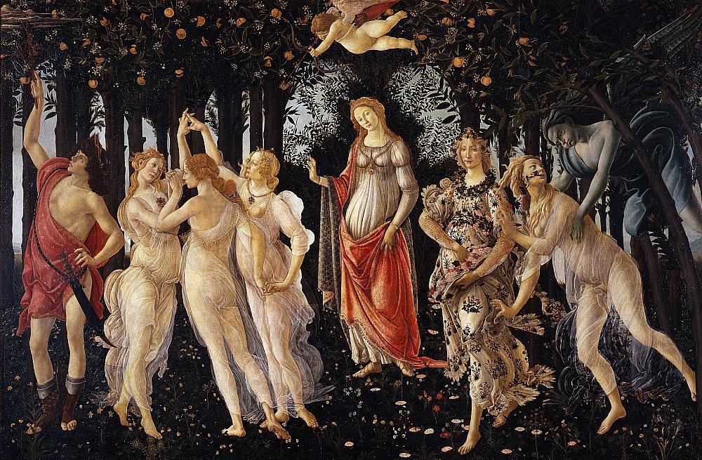 Qual è la vera realtà? Botticelli dipinge le due dimensioni del mondo di Marsilio Ficino