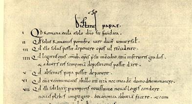 Il potere del Papa: Giovanni Paolo II agiva pensando al Dictatus Papae di Gregorio VII?