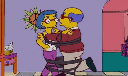 I genitori di Milhouse, Kirk e Luann, ci insegnano come non affrontare una separazione
