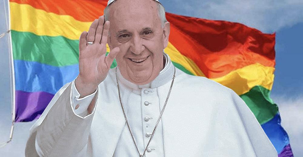 Il discorso di Papa Francesco: un grido di rivoluzione per le unioni civili tra omosessuali
