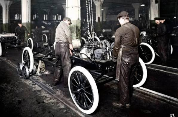Ford e la catena di montaggio