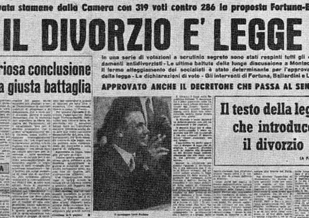 La legge sul divorzio compie cinquant'anni, ma Grazia Deledda ne aveva parlato ancora prima