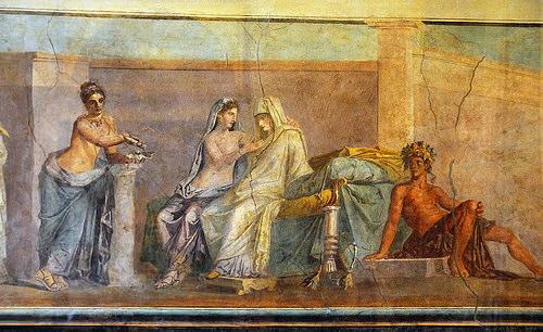 Ritrovato un carro cerimoniale a Pompei: ecco com'erano la famiglia e i matrimoni nell'antica Roma