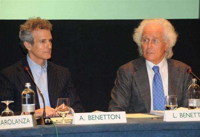 Alessandro e Luciano Benetton (LaPresse)
