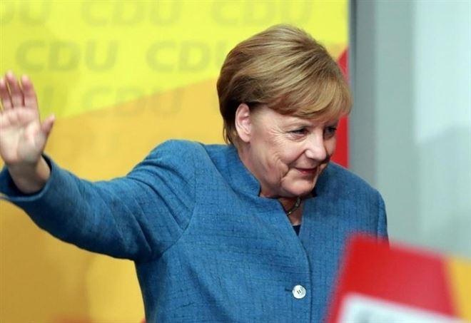 Germania e un mare d'oro, Angela Merkel - La Presse