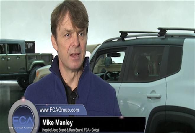 Mike Manley nuovo Ad di Fca