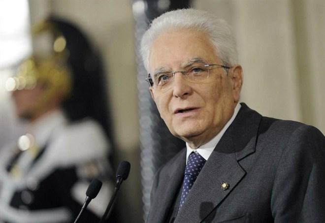 Sergio Mattarella (LaPresse)