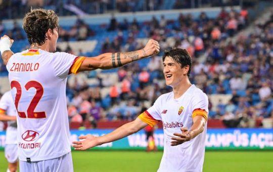 Conference League. La Roma batte il Trabzonspor 2-1