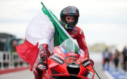 Bis di Bagnaia nel Moto GP di San Marino a Misano