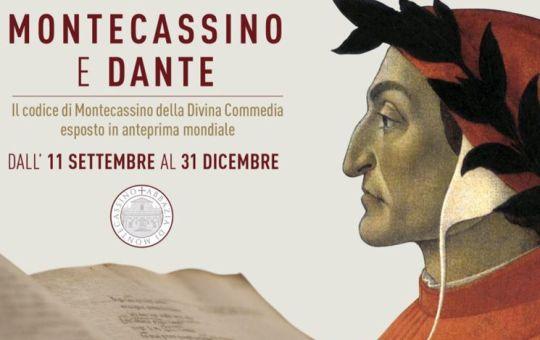 """Inaugurata la mostra """"Montecassino e Dante"""" nel 700° anniversario della morte del Sommo Poeta"""