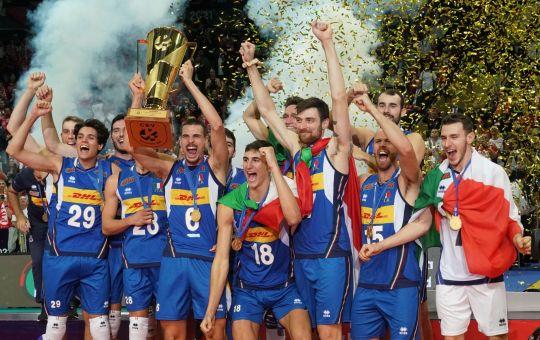 L'Italia batte la Slovenia e vince l'Europeo di volley maschile