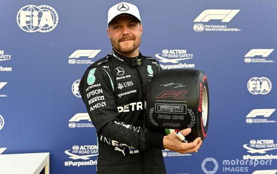 Formula1 GP di Monza. A Bottas la qualifica sprint ma va viene retrocesso