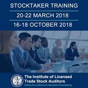 2018 stocktaker training courses by professional body ILTSA