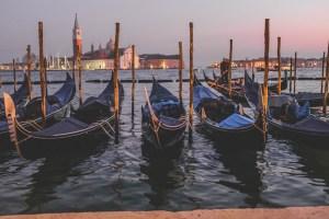 Gondole carnevale venezia