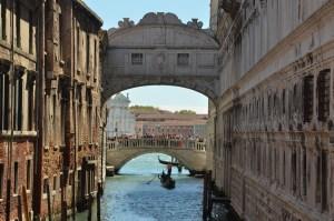 Ponte dei sospiri Carnevale di Venezia