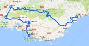 Itinerario Provenza