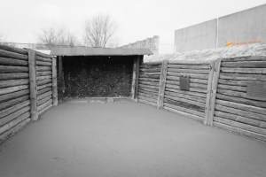 La fossa per le fucilazioni Sachsenhausen
