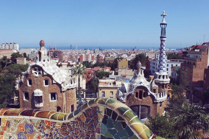 Barcellona da Parco Guell