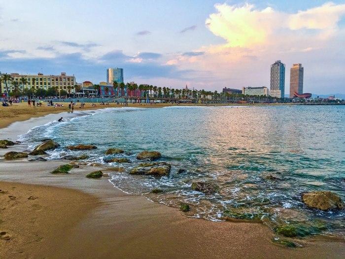 Barceloneta spiaggia Barcellona