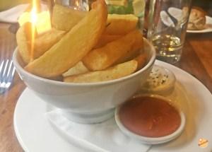 Chunky chips Edimburgo
