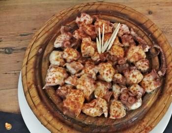 Polpo alla gallega Madrid cucina spagnola