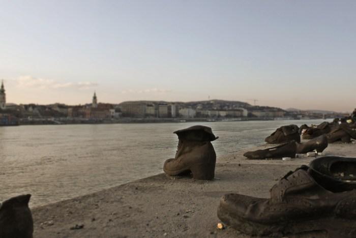 Passeggiata delle scarpe Budapest