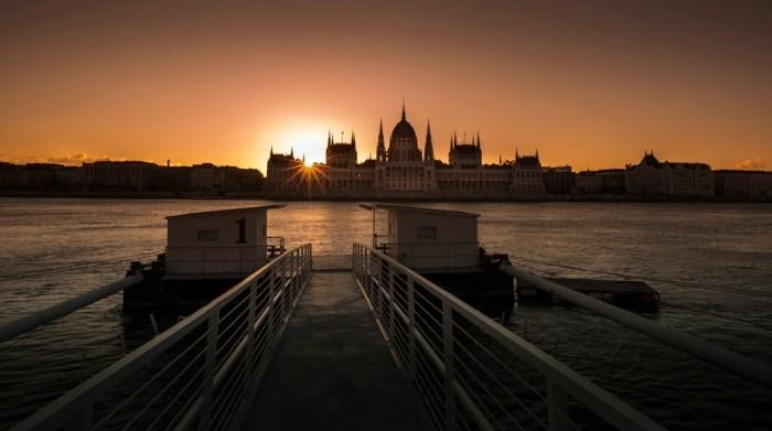 tramonto Budapest