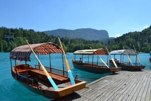 Pletna lago di Bled