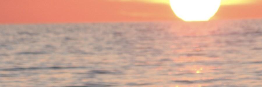 tramonto ad Ardea