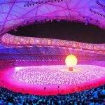 La Iluminación en las ceremonias de inauguración y clausura en Beijing